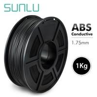 SUNLU 1.75MM 3D Printer ABS Conductive Filament 1kg Anti static 3D Printing Material ABS Plastic Tolerance +/ 0.02mm