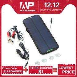 ALLPOWERS 12V 18V 7,5 W Cargador Solar Panel Solar batería mantenimiento para coche automóvil motocicleta barco batería buscador de peces