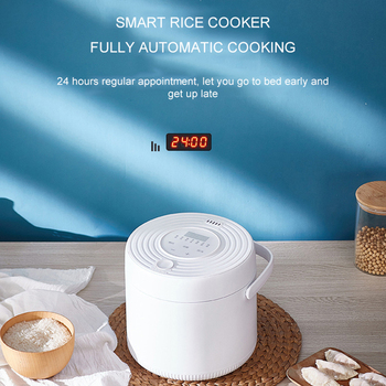цена на Mini Rice Cooker Multifunction Appointment Timing 2L Home 220V Portable Rice Cooker One Person For Couples Or Living Alone