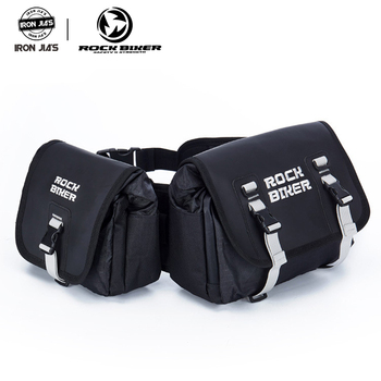ROCK BIKER Motorcycle Bag  Rider MultiFunction Portable Bags Waterproof Motorcross Detachable Twin Pack Saddle Bag