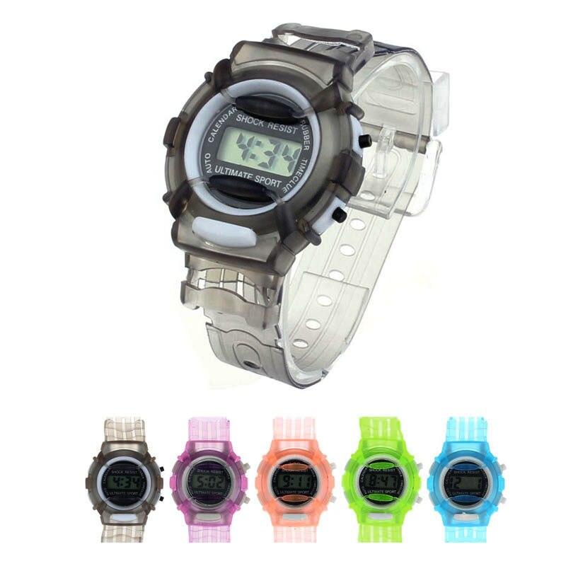 2019 Hot Fashion Kid's Watch Boys Girls Children Students Analog Digital Wristwatches Sports Watch Clock Relogio Montre Enfant