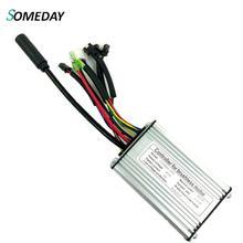 Когда-нибудь для электрического велосипеда 24V20A Burushless прямоугольную волну контроллер KT для 24V 250/350 W, фара для электровелосипеда в двигатель с SM WP Plug and светильник линии