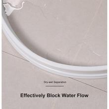50 см стопор для воды для ванной комнаты, резиновый кухонный силиконовый блокировщик воды для дома