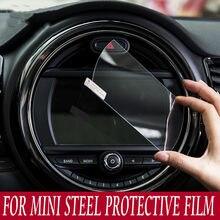 Carro de proteção vidro temperado instrumento tela navegação adesivo acessórios para mini cooper f54 f55 f56 f57 f60 countryman