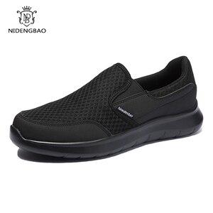 Image 1 - Zapatos de marca para hombre, zapatillas ligeras y transpirables, calzado masculino de alta calidad, zapatos informales de talla grande 49 50