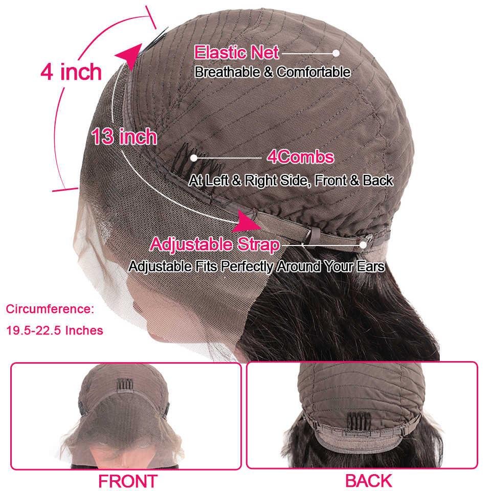Бразильские волнистые кружевные передние человеческие волосы, фронтальные кружевные парики с детскими волосами 13х4 prepucked Natural Hairline Beaufox Remy150 %