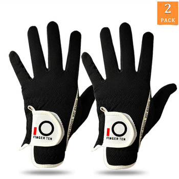 Left Hand Right Hand Golf Gloves Mens Rain Grip Hot Wet Weather Winter Sports 2 Pack Durable Breathable Soft Set Drop Shipping