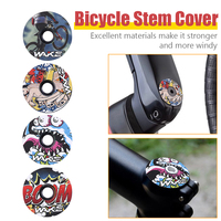 WAKE Fahrrad Headset Gabel Top Kappe CNC MTB Mountainbike Stem Top Abdeckung Radfahren Ausrüstung Zubehör-in Fahrrad-Kopfhörer aus Sport und Unterhaltung bei