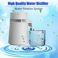 220V 4L/6LHome Pure Water Distiller Filter Water Distilled Machine Dental Distillation Purifier Equipment Stainless Steel Pl