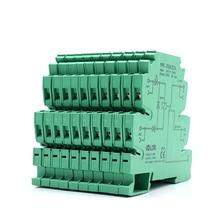 цена на 10pcs/lot PLC Control 1NO+1NC 24V Switch Interface Relay Module 6A 250VAC/DC Output LED Electromagnetic Voltage Relay Switch