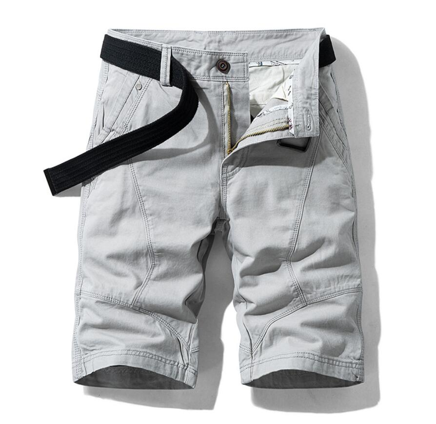 Summer Men's casual shorts thick work pants 2 colors