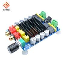 Placa de amplificador de Audio Digital TDA7498, CC de 24V, 2x100W, alta potencia, doble canal, Clase d, kit de bricolaje, control de volumen
