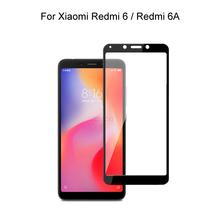Szkło hartowane dla Xiaomi Redmi 6 Redmi 6A szkło hartowane ochronne dla Xiaomi Redmi 6A tanie tanio UZWZW TEMPERED GLASS Jasne CN (pochodzenie) Przedni Film