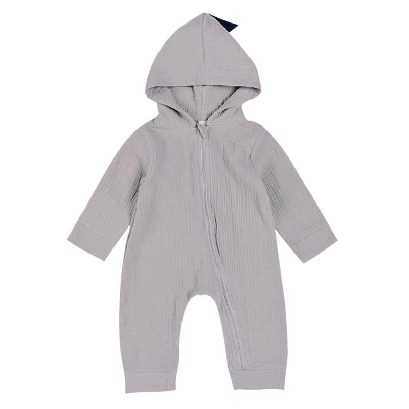 H84ae54456bd341acb2f965d5f6cba5211 Baby Rompers Winter Warm Longsleeve Coral Fleece Newborn Baby Boy Girl Clothes Infant Jumpsuit Animal Overall Pajamas