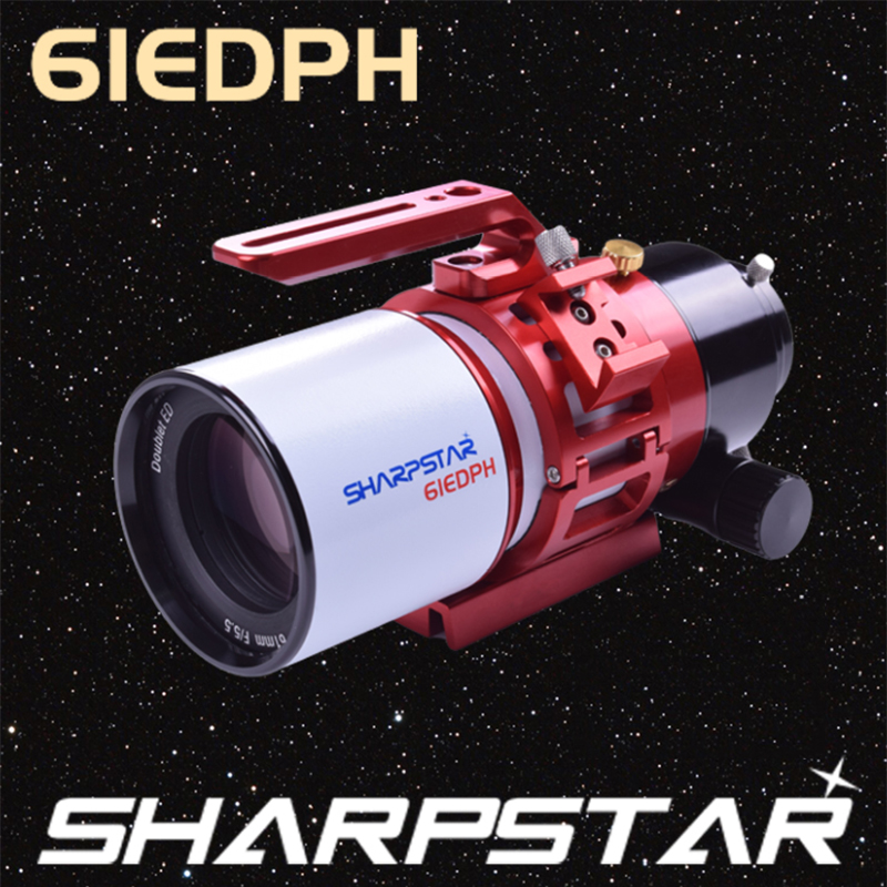 HERCULES SharpStar 61EDPH F5.5 High Precision Visual Photography With Ultra-Low Dispersion Astronomical Telescope Portable