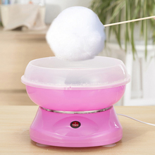 New Hot Electric DIY Sweet Cotton Candy Maker Marshmallow Machine MINI Portable Cotton Sugar Floss Machine JK-MO5 US Plug цена и фото
