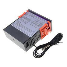 STC-1000 saída dupla led digital controlador de temperatura termostato de refrigeração portátil termostato aquecimento