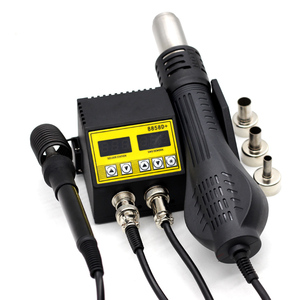Image 2 - 8586D SMD BGA Rework Solder Station Hot Air Blower Heat Gun Intelligent Detection Cool Air Welding Soldering Iron Repair Tool