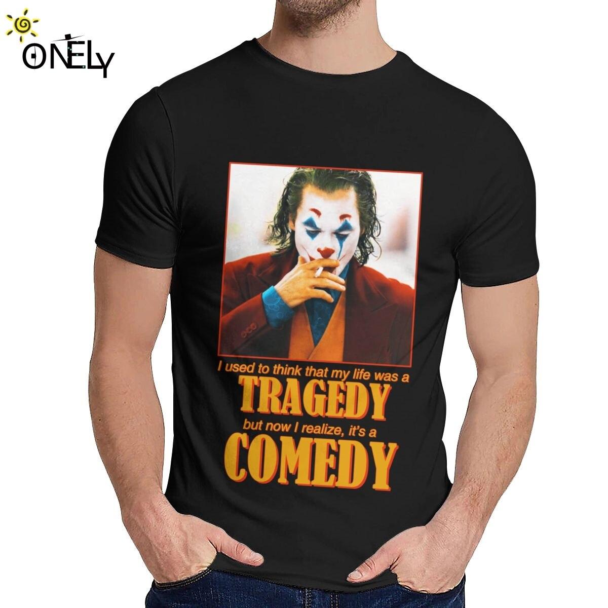 Unisex Tee Shirt Joker Joquin Phoenix 2019 Movie Unique Design O-neck T Shirt