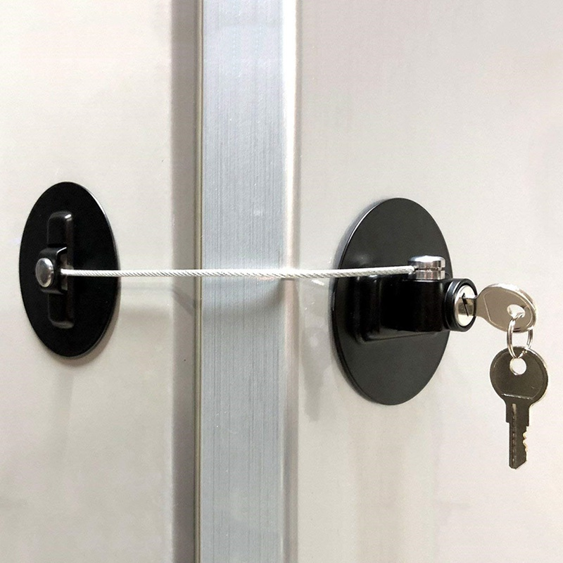 Children Safety Window Lock Refrigerator Lock Window Lock No Need To Punch -80mm