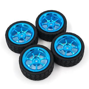 4PCS Rim and Tires with 7mm To