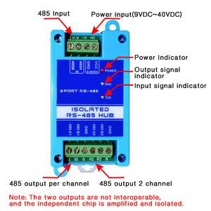 Image 3 - 485 repeater izolacja fotoelektryczna klasy przemysłowej RS485 hub 2 port wzmacniacz sygnału zwalczania zakłóceń ochrony odgromowej