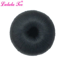 Big Synthetic Hair Donut Chignon Clip in FakeHair Bun Cover Wig Hairpieces For Women Apple Shape Updo