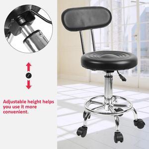 Image 4 - Adjustable Salon Hairdressing Styling Chair Barber Massage Studio Tools Adjustable Barber Chairs Massage Salon Furniture