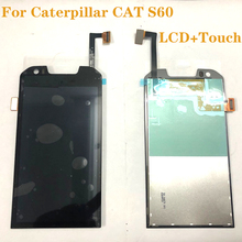4.7 inch Original LCD For Caterpillar CAT S60 LCD Display Touch Screen Digitizer Assembly for cat s60 s 60 display Repair kit