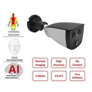 Измерение температуры тела, тепловая камера, решение для скрининга жара без штатива