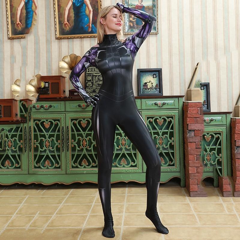 Alita Battle Angel Adult Kids Tight Suit Jumpsuits Cosplay Costume Bodysuit