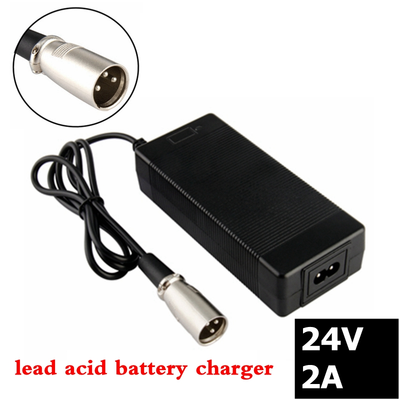 24V 2A lead-acid battery <font><b>Charger</b></font> wheelchair <font><b>charger</b></font> <font><b>golf</b></font> <font><b>cart</b></font> <font><b>charger</b></font> <font><b>electric</b></font> scooter ebike <font><b>charger</b></font> XLR metal connector image