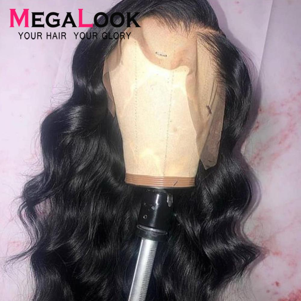 Body Wave Wig 13x6 13X4 Lace Front Human Hair Wigs 180% Remy P/9A 12-30 Inch Pre Plucked Lace Frontal Wigs For Black Women