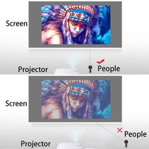 Image 5 - โปรเจคเตอร์หน้าจอ 60 72 84 100 120 นิ้วผ้าสะท้อนแสงหน้าจอสำหรับXGIMI H1 H2 JMGO UNIC UC40 UC46 YG300 Espon Beamer