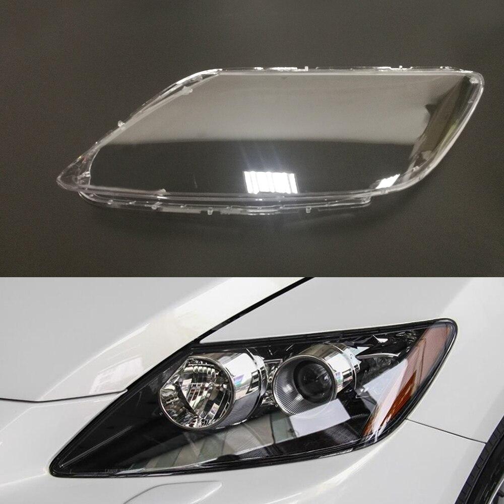 2 PCS Couverture De Phares De Voiture Led Ampoules Transparent Durable Polycarbonate Mat/ériau