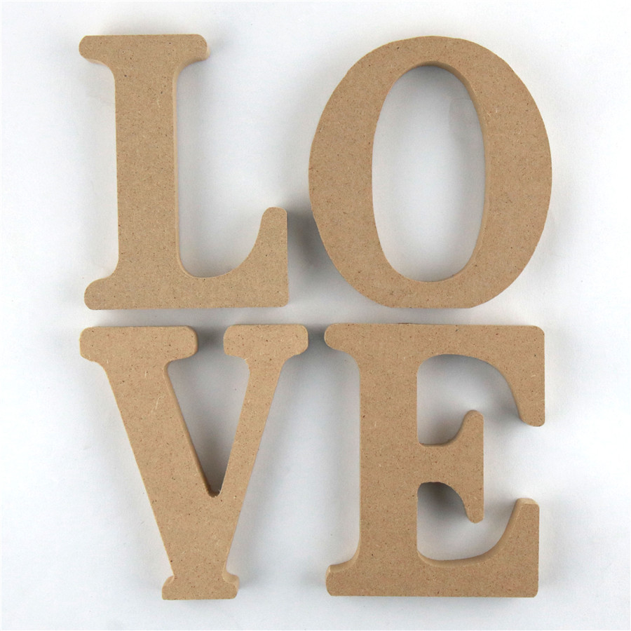 1pc 10cm Wooden Letters Alphabet Name Letter Standing DIY Word Design Art Crafts Wood Party Birthday Home Decor 3.94 Inches
