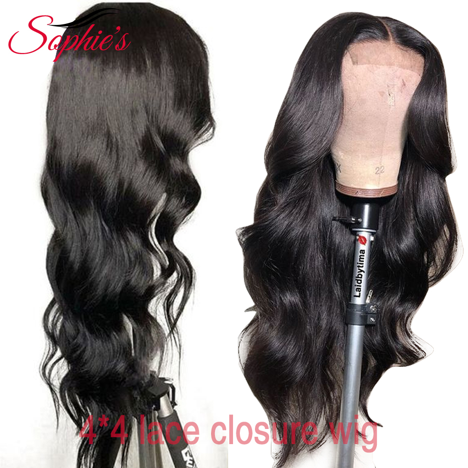 sophie's-brazilian-body-wave-4-4-lace-closure-wigs-pre-plucked-with-baby-hair-non-remy-lace-closure-human-hair-wigs