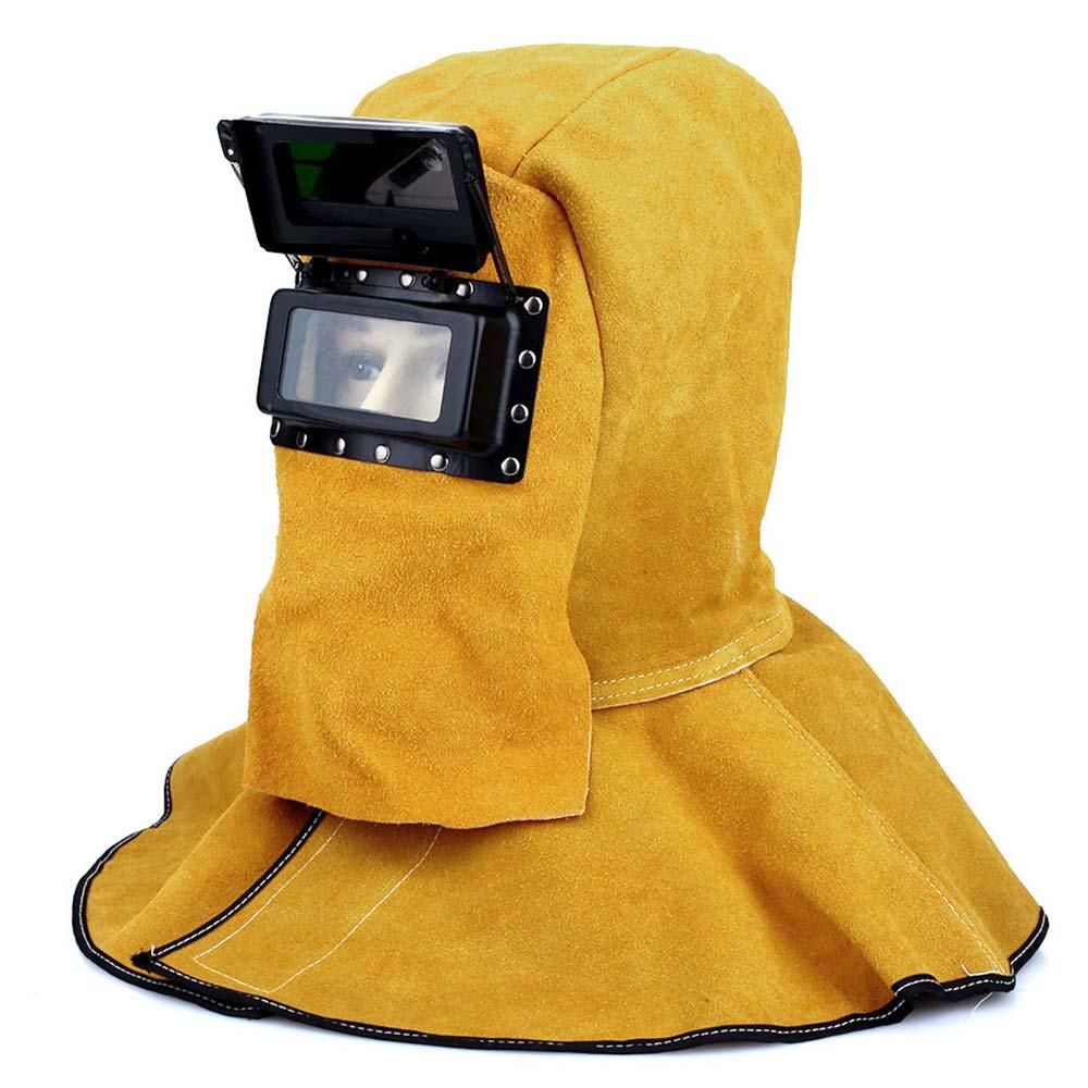 Máscara de Soldar premium casco solar auto oscurecimiento con protector de cabeza