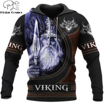 Viking Odin 3D Printed Mens Hoodie Streetwear hoodies Sweatshirt Casual Jacket Tracksuits Hoodie Halloween cosplay costumes 1