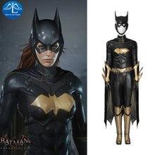 Костюм для косплея Бэтмен Аркхэм рыцарь бэтгерн кожаный комбинезон