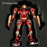 Origianl Comicave 1:12 Diecast Alloy Hulkbuster Armored Iron Man Mk44 Figure Doll Armor Model With LED for Fans Gifts