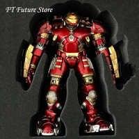 Origianl Comicave 1:12 Diecast Legierung Hulkbuster Gepanzerte Eisen Mann Mk44 Figur Puppe Rüstung Modell Mit LED für Fans Geschenke