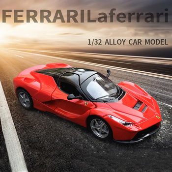 Hot Alloy Diecast Model Car LaFerrari Super Sports Car Vehicle Alloy Diecast Toy Car Model Metal Gift Car Toys For Children Kids new arrival gift lp700 matte 1 18 model car collection alloy diecast scale table top metal vehicle sports race decoration toy