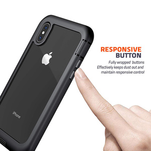 Image 5 - Ударопрочный чехол для iPhone 7 8 Plus X XS XR 11 Pro Max полный корпус Броня бампер противоударный Прозрачный чехол для 11pro Coque