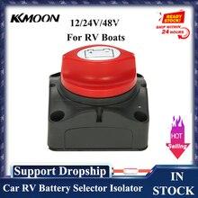 12/24V/48V АВ Батарея селектор изолятор отключите поворотный переключатель включения/выключения Замена Мощность переключатель для авто лодка ...