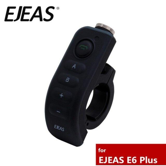 מקורי EJEAS אביזרי אופנוע כידון שלט רחוק עבור E6 + E6Plus Bluetooth קסדת אינטרקום האינטרפון אוזניות