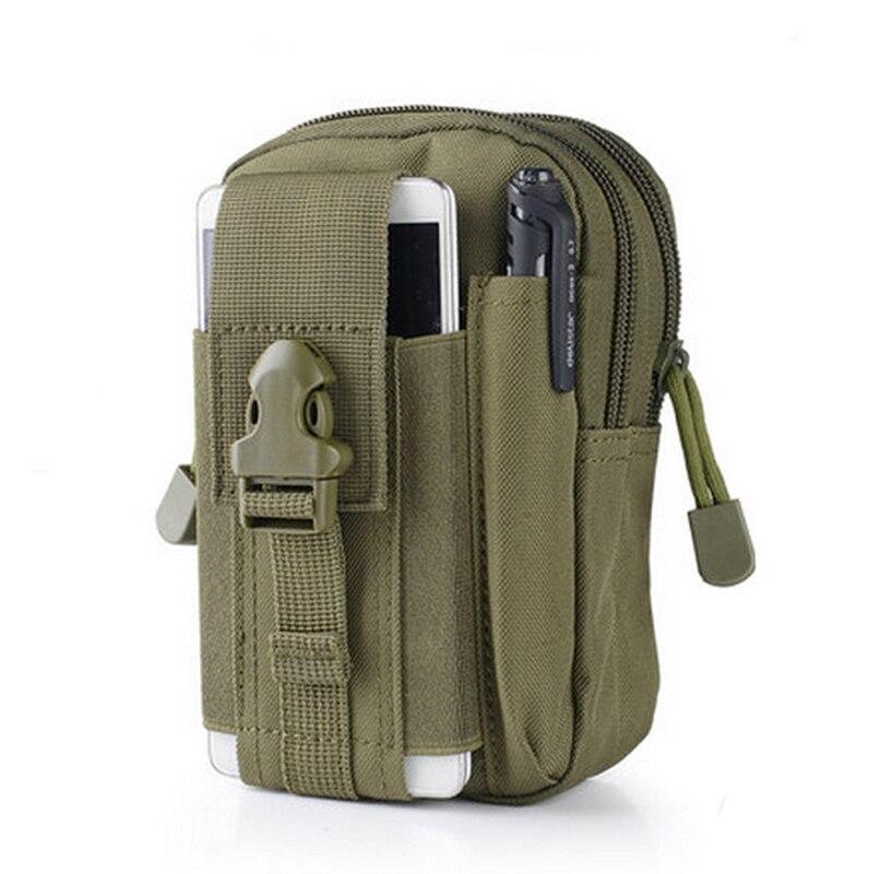 Men Tactical Molle Pouch Belt Waist Pack Bag Small Pocket Military Running Pouch