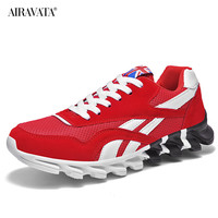 Red-Couples Sneakers Casual Breathable Comfortable Running Sport Shoes