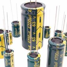20%High-Frequency Capacitor 100uf 2200UF 470UF 400V 330UF 680UF 100V 25V 50V 35V 16V
