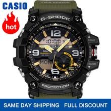 Casio montre G SHOCK montre des hommes haut de luxe ensemble LED militaire numérique montre bracelet étanche montre de sport à quartz hommes Lumineux montres Twin Sensor boussole numérique g choc mens montr часы reloj